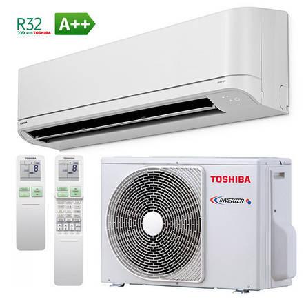 Инверторный кондиционер Toshiba RAS-B16J2KVRG-E/RAS-16J2AVRG-E Shorai Premium, фото 2