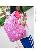 Рюкзак школьный HiFlash для девочки розовый