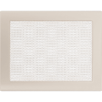Решетка кремовая 22*30 (крашеная), фото 1