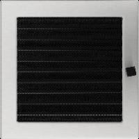Решетка шлифованная сталь 22*22 жалюзи, фото 1