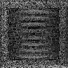 Решетка Oskar черно-серебряная 22*22 (крашеная)