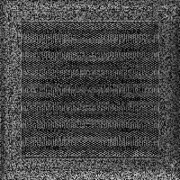 Решетка Oskar черно-серебряная 22*22 (крашеная), фото 1