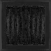 Решетка Oskar черная 22*22 (крашеная)