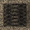 Решетка черно-золотая 22*22 (крашеная)