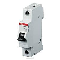 Автоматический выключатель ABB S201-C63 (1п, 63A, Тип C, 6kA)
