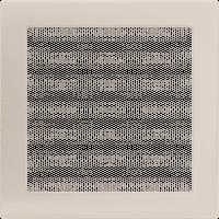 Решетка кремовая 22*22 (крашеная), фото 1