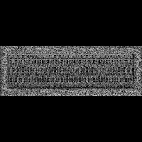 Решетка Oskar черно-серебряная 17*49 (крашеная) жалюзи, фото 1