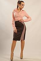 Лиловая женская юбка-карандаш RiMari Велори  42