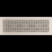 Решетка Oskar кремовая 17*49 (крашеная), фото 1