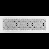 Решетка Oskar белая 17*49 (крашеная), фото 1