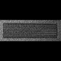 Решетка черно-серебряная 17*49 (крашеная) жалюзи, фото 1