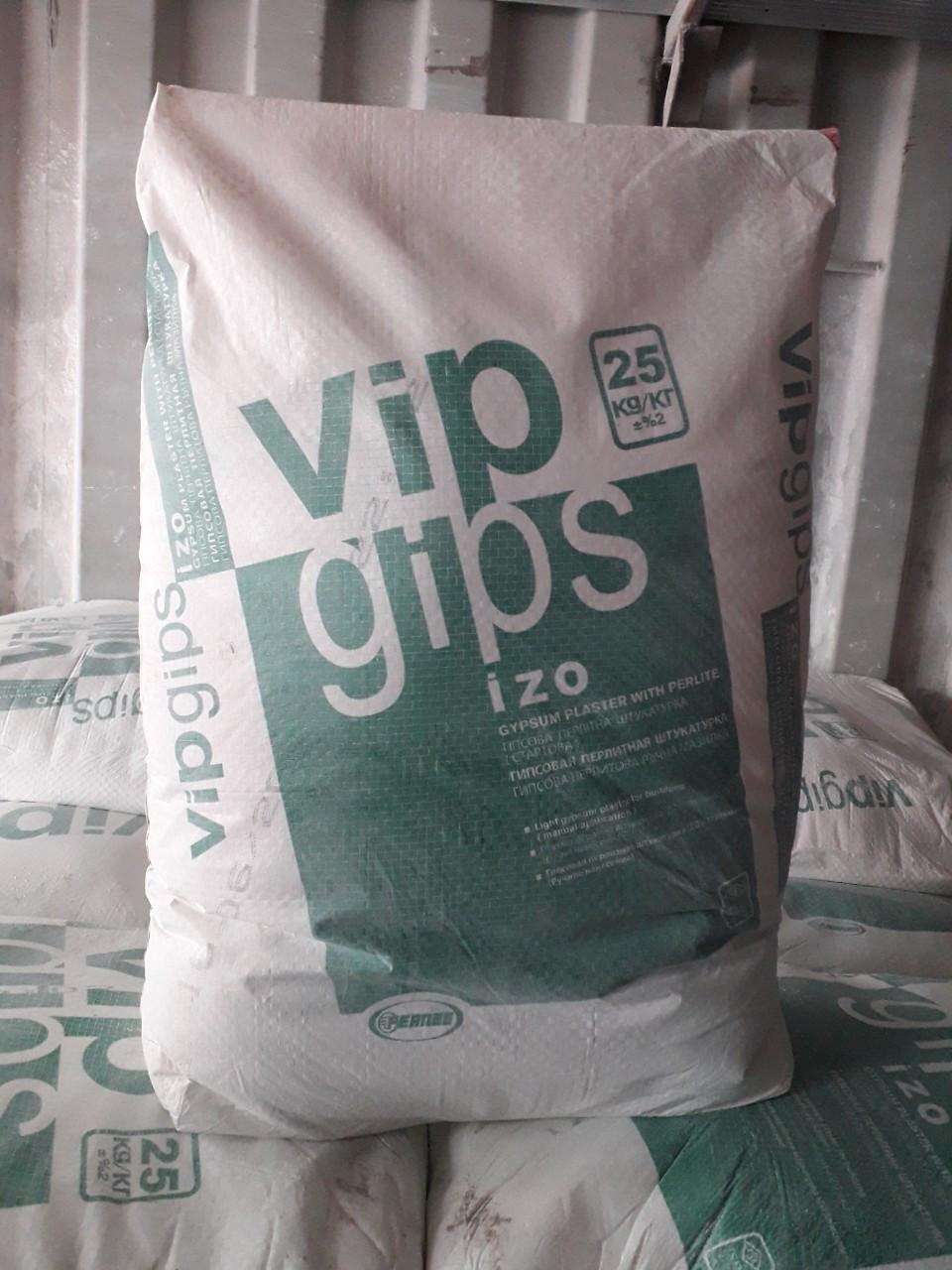 Штукатурка VIP GIPS izo 25кг