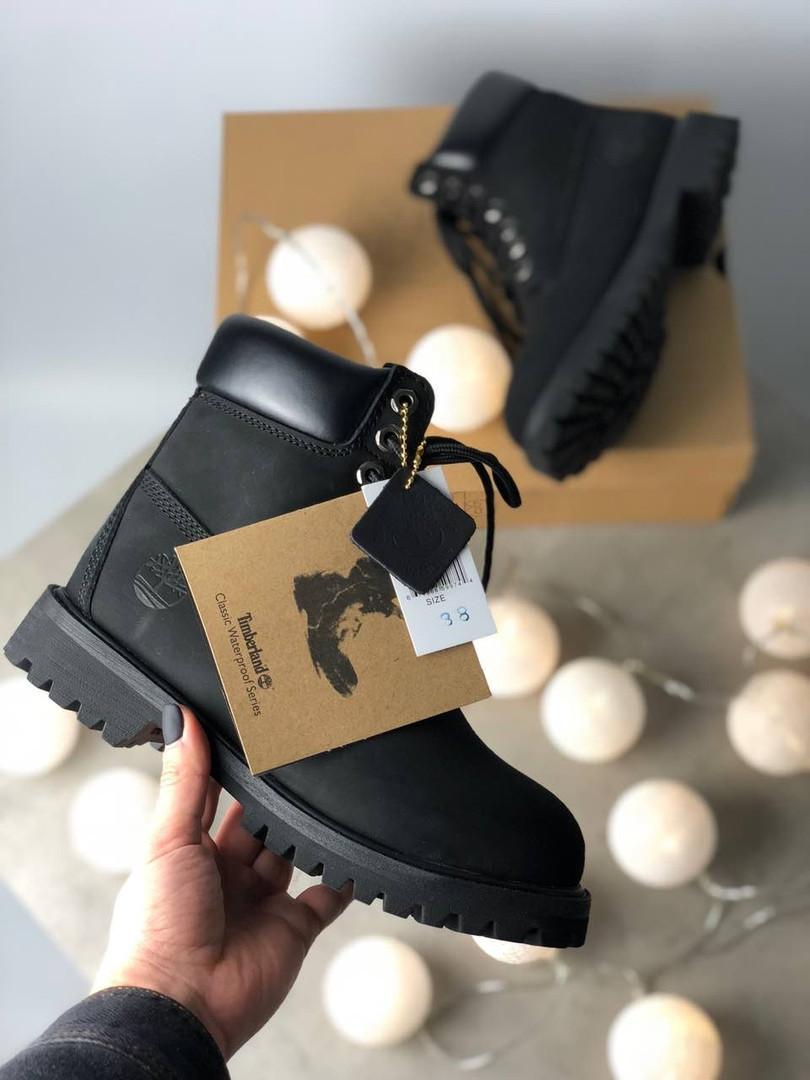 """Зимние ботинки Timberland Classic """"Черные"""""""