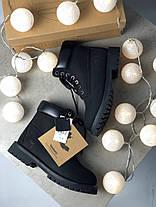 """Зимние ботинки Timberland Classic """"Черные"""", фото 2"""