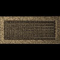 Решетка черно-золотая 17*37 (крашеная) жалюзи, фото 1