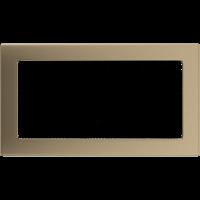 Решетка золото гальванизированное 17*30, фото 1