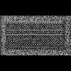 Решетка Oskar черно-серебряная 17*30 (крашеная) жалюзи