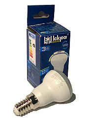 Светодиодная рефлекторная лампа LED (R39) 3Вт Природно-белый 220B, E14