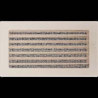 Решетка кремовая 17*30 (крашеная) жалюзи, фото 1