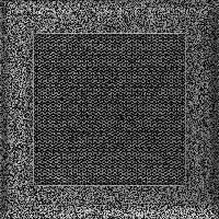 Решетка Oskar черно-серебряная 17*17 (крашеная), фото 1