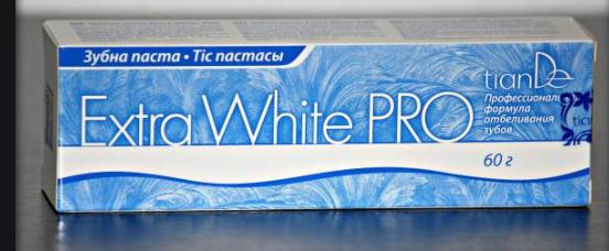 отбеливающая зубная паста тианде