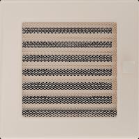 Решетка кремовая 17*17 (крашеная) жалюзи, фото 1