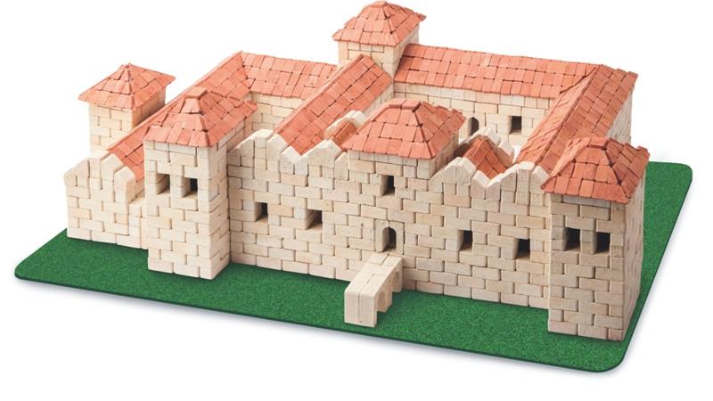 Свиржский замок | Конструктор из мини-кирпичиков | 2500 деталей | Країна замків та фортець (Україна)