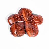 Фігурка квітка з червоної яшми, 494ФГЯ