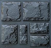 "Форма для декоративного камня и плитки ""Руст"", АБС-пластик (в комплекте 18 шт.)"