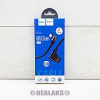 USB кабель Hoco U37 microUSB (Black)