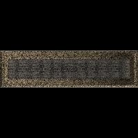Решетка Oskar черно-золотая 11*42 (крашеная), фото 1