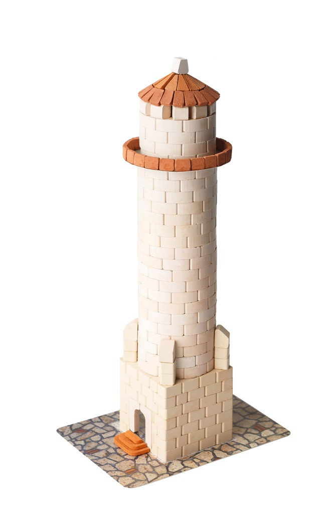 Маяк | Конструктор из мини-кирпичиков | 500 деталей | Країна замків та фортець (Україна)
