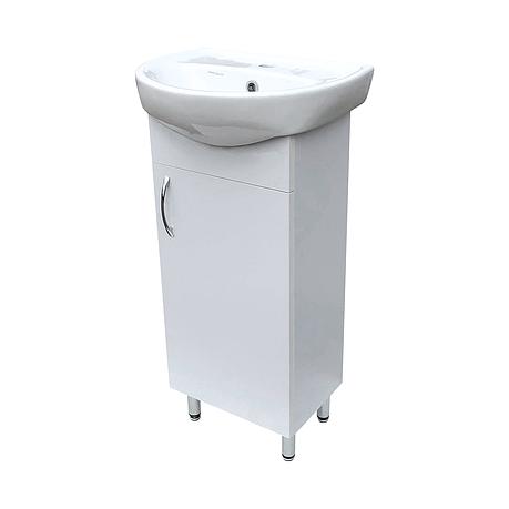"""Тумба под раковину для ванной комнаты Эко 45 c умывальником """"Аква"""" Юввис, фото 2"""