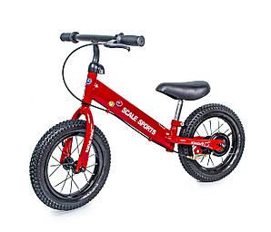 """Велобіг Від Scale Sports 12"""". Червоний колір. (1334775842)"""