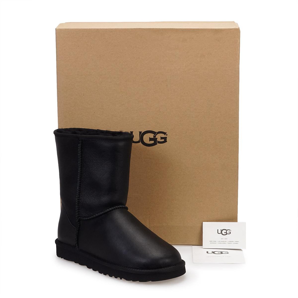 Мужские угги (UGG Mens Classic Short Leather )41,42,43,44,45