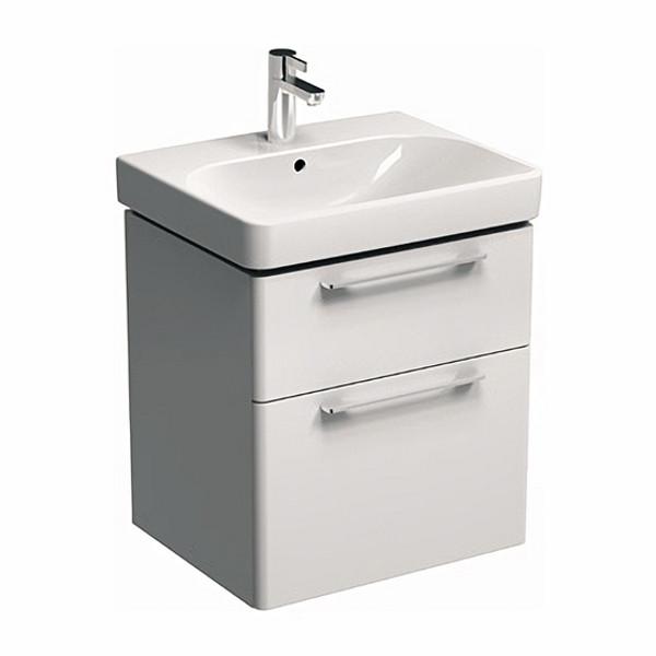 TRAFFIC шкафчик под умывальник 56,8*62,5*46,1 см, белый глянец (пол.)