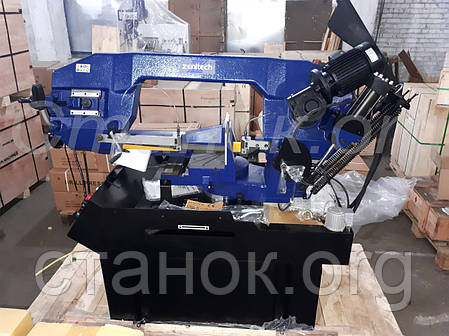 Zenitech BS 355 напівавтоматичний стрічкопильний верстат по металу ленточнопильный станок по металлу пила, фото 2