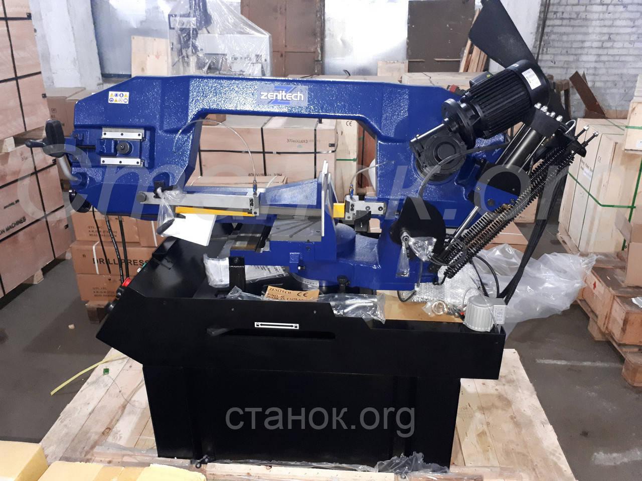 Zenitech BS 355 напівавтоматичний стрічкопильний верстат по металу ленточнопильный станок по металлу пила