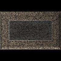 Решетка Oskar черно-золотая 11 * 17 (крашеная), фото 1
