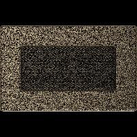 Решетка черно-золотая 11 * 17 (крашеная), фото 1