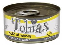 Консервы Tobias курица в собственном соку для взрослых собак всех пород 85 гр.