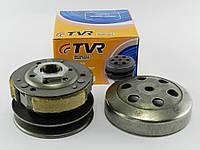Сцепление Honda Dio 18/25/27/28/Tact 30 (в сборе с чашкой) TVR