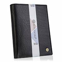 Чоловічий шкіряний гаманець Betlewski з RFID 12,9 х 10 х 2,5 (BPM-BH-575) - чорний, фото 1