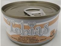 Консервы Tobias курица гриль для взрослых собак всех пород 85 гр.
