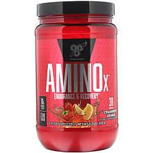 Аминокислоты ВСAA AMINO X 1020 г Вкус: Клубника - апельсин
