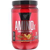 Аминокислоты BCAA AMINO X 435 г  Вкус: Клубника апельсин