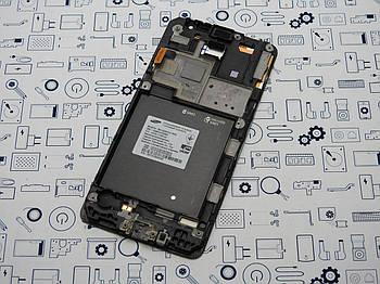 Б.У. Дисплей Samsung G530H модуль в рамке белый Оригинал
