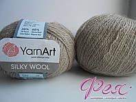 Пряжа ЯрнАрт Силк Вул (YarnArt Silky Wool ) №337