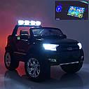 Детский электромобиль Джип M 3573 (MP4) EBLR-1, Ford Ranger 4WD, белый, фото 7