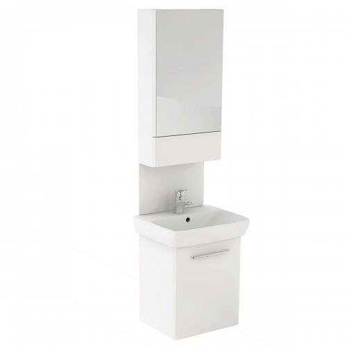 NOVA PRO комплект 55 cм: комплект с умывальником M39004, шкафчик с зеркалом 88429, панель для умывальника 88448